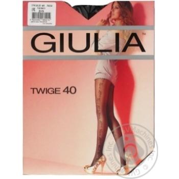 Tights Giulia nero polyamide for women 40den