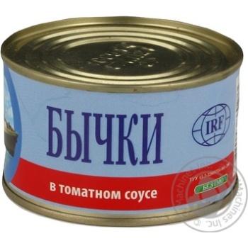 Бычки IRF в томатном соусе 230г - купить, цены на СитиМаркет - фото 7