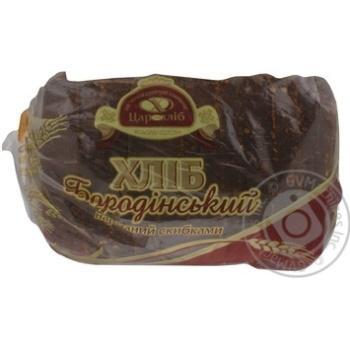 Хлеб Царь Хлеб Бородинский нарезка 400г Украина