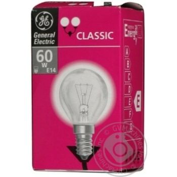 Bulb General electric e14:е14 60w 230v - buy, prices for Novus - image 1