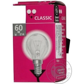 Bulb General electric e14:е14 60w 230v - buy, prices for Novus - image 3