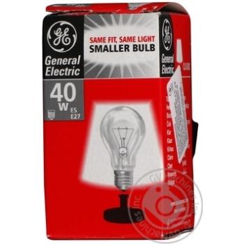 Bulb General electric e14:е14 40w 1000hours