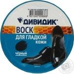 Воск защитный для обуви Дивидик Классик 50мл черный