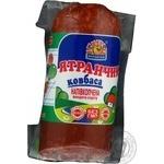 Ковбаса Ятранчик яловичина охолоджена вакуумна упаковка