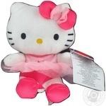 Іграшка м'яка Hello Kitty балеріна 15см в дисплеї