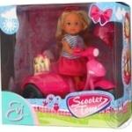 Кукла Simba Steffi Love Прогулка на скутере с собачкой