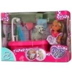 Кукла Simba Эви и набор для купания собак