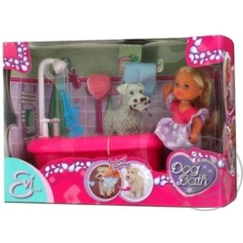 Кукла Simba Эви и набор для купания собак - купить, цены на МегаМаркет - фото 4