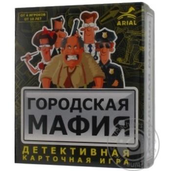 Карткова гра Міська мафія - купити, ціни на Novus - фото 2