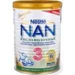 Замінник груд.молока Нан кисломолочн.3 Nestle 400г