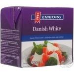 Продукт сырный Emborg Danish White Combi рассольный с растительным жиром 500г