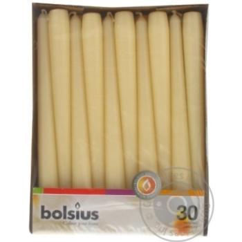 Свечи Bolsius чайные 30шт