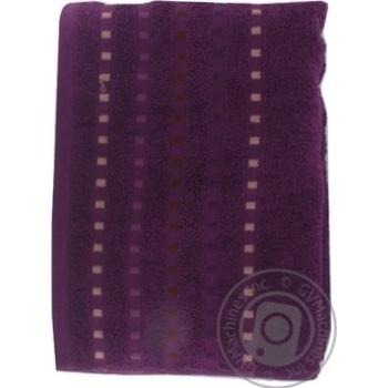 Полотенце Zastelli Мозаика махровое фиолетовое