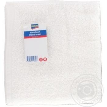 Полотенце махровое Fairline белое 50х90см 280 г/см