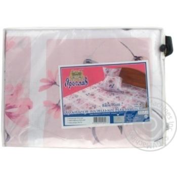 Комплект постельного белья Ярослав бязь полуторный (1 наволочка) - купить, цены на Novus - фото 1