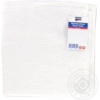 Полотенце махровое Fairline белое 50х50см 280 г/см