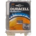 Батарейка Duracell Ultra літієва 3V CR2 1шт