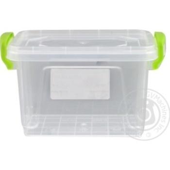 Контейнер пищевой Minibox №2 с крышкой 0,45л - купить, цены на Таврия В - фото 3