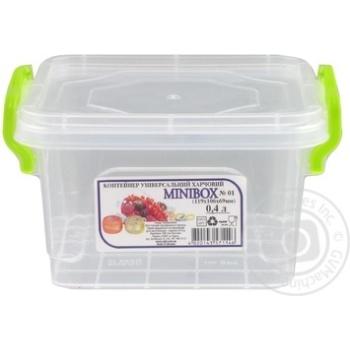 Контейнер пищевой Minibox №1 с крышкой 0,4л - купить, цены на Таврия В - фото 3
