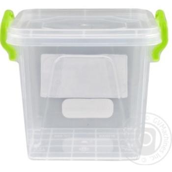 Контейнер пищевой Minibox №2 с крышкой 0,6л - купить, цены на Таврия В - фото 5