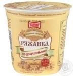 Ряженка Злагода По-домашнему 4% 300г пластиковый стакан Украина