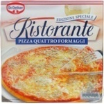 Піца Др.Оеткер Рісторанте 4 сира заморожена 305г Польща