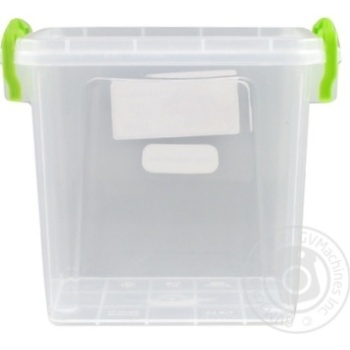 Premium №2 Food container high with lid 161X112X145mm 1,4l - buy, prices for Auchan - photo 2