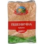 Крупа пшенична Ситий двір Полтавська №3 800г