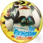 Мяч Star Пінгвіни з Мадагаскару 23см