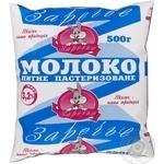 Молоко Заречье пастеризованное 3,2% 500г