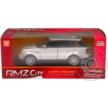 Машина Land Rover Range Rover Sport Uni-Fortune свiт,музика в асорт.554007