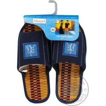 Обувь мужская Marizel комнатная Yan 593 - купить, цены на Фуршет - фото 1