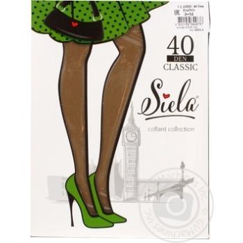 Колготи жіночі Siela Classic 40 daino-3 - купить, цены на Novus - фото 1