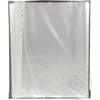 Файл EconoMix А4+ глянец 100шт - купить, цены на Метро - фото 2