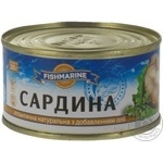 Fish sardines Fishmarine with addition of butter 200g can