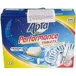 Таблетки для посудомийної машини Аpta lemon Активний кисень 45шт