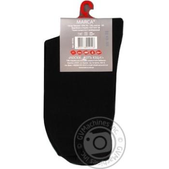 Шкарпетки чоловічі подвійний борт Marca Comfort розмір 27 арт.М103L - купить, цены на Novus - фото 3