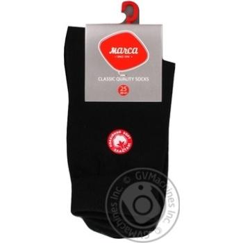 Шкарпетки чоловічі подвійний борт Marca Comfort розмір 25 арт.М103L - купить, цены на Novus - фото 2