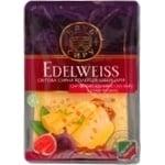 Сыр Клуб сыра Эдельвейс твёрдый нарезанный ломтиками 45% 150г