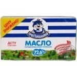 Масло 72,6% селянське Простоквашино фольга 200г