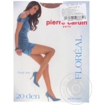 Колготи жіночі Pirre Cardin Floreal 20 visone 4 - купить, цены на Novus - фото 1