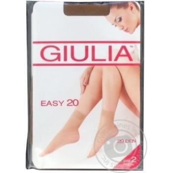 Носки Giulia Easy 20 Den женские бежевые 2пары