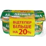 Біфідойогурт 3% висівки-злаки Активіа стакан МР 4*140г