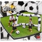 Ворота надувні BestWay import з сіткою для гри в футбол 213*122*137см