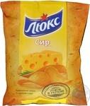 Чипсы Люкс картофельные со вкусом сыра 71г