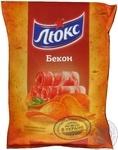 Чипсы Люкс картофельные со вкусом бекона 133г Украина