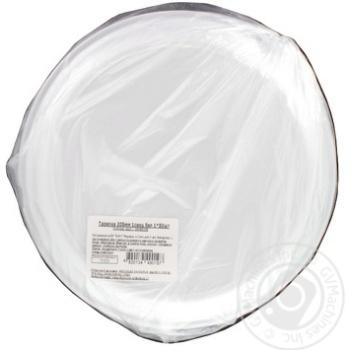 Тарелка белая 205мм 50шт - купить, цены на Метро - фото 2