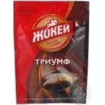 Natural instant sublimated coffee Jockey Triumph Arabica 95g Russia