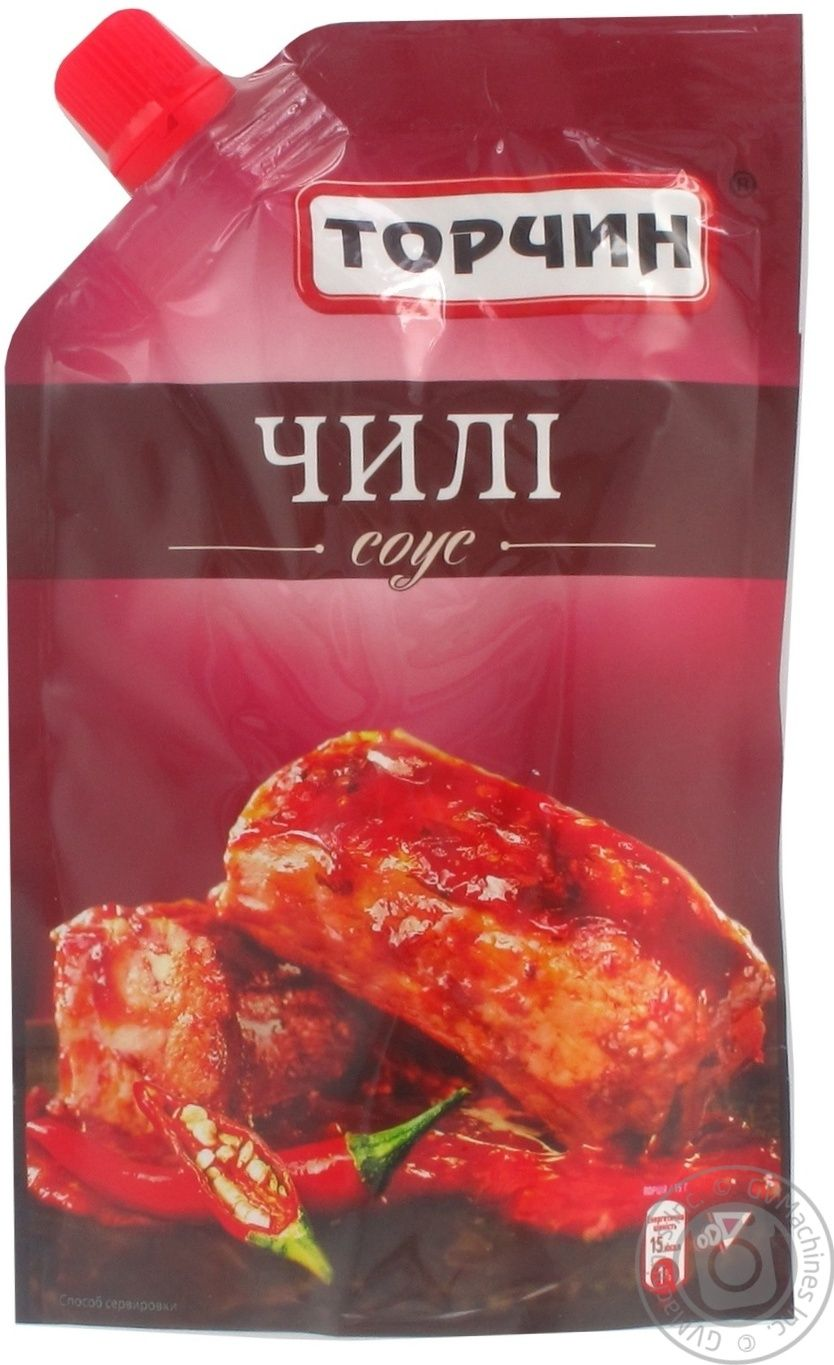chili sauce torchin 200g ukraine → canned food and seasonings chili sauce torchin 200g ukraine