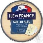Сыр Ile de France Бри с голубой плесенью 50% 125г